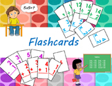 Addition, Subtraction, Multiplication and Division Flashca