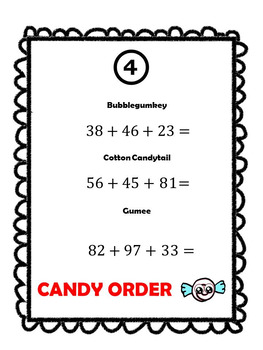 Addition, Subtraction, Multiplication, and Division Scavenger Hunt Puzzle Games