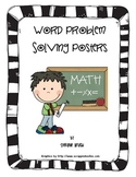 Addition, Subtraction, Multiplication and Divsion Key Words Posters