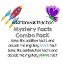 Addition Subtraction Mystery Fact Bundle