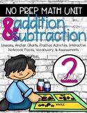 Addition & Subtraction No Prep Unit {2nd Grade}