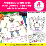 Addition & Subtraction Part-Part-Whole Activities