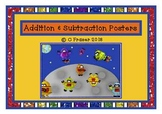 Addition & Subtraction Picture Posters