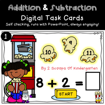 Addition & Subtraction Power Point Game