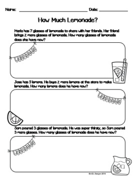Addition & Subtraction Practice 0 - 20