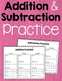 Addition and Subtraction Practice Bundle