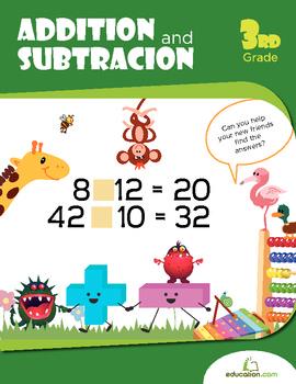 Addition Subtraction Practice Workbook