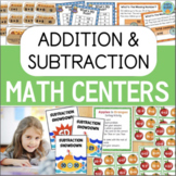 Addition and Subtraction Games and Math Activities BUNDLE