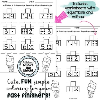 addition subtraction prin by thehappyteacher teachers pay teachers. Black Bedroom Furniture Sets. Home Design Ideas