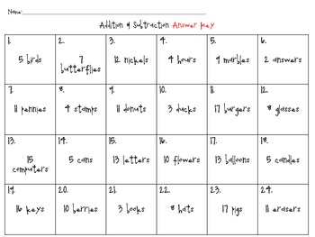Addition & Subtraction Problem Solving Cards {CCSS Aligned}