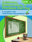 Addition, Subtraction, & Problem Solving, Grade 3