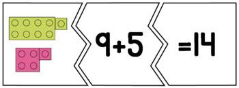 Addition & Subtraction Math Fact Puzzles BUNDLE