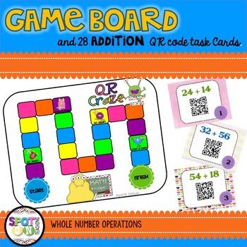 Addition & Subtraction QR CRAZE BUNDLE