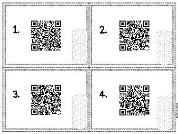 Addition & Subtraction QR Code Hunt ~ Writing Number Sentences!