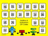 Addition & Subtraction QR Codes