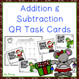 Addition and Subtraction QR Codes ~ Christmas