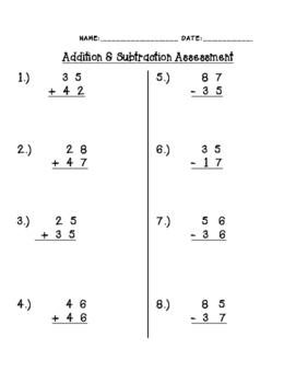 Addition & Subtraction Quiz