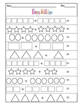 Addition & Subtraction Sheets