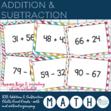 Addition & Subtraction - Skills Scoot