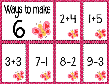 Math Fact Fluency for February (0 to 10)