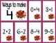 Math Fact Fluency for November (0 to 10)