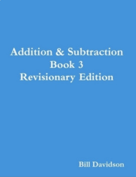 Addition & Subtraction Sprint Book