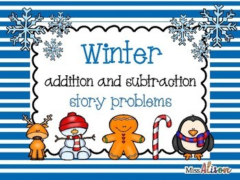 Addition & Subtraction Stories