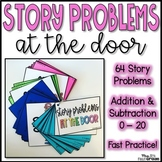 Addition & Subtraction Story Problems 0 - 20