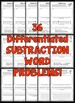 Halloween Word Problems (Addition and Subtraction Word Problems BUNDLE)