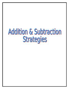 Addition & Subtraction Strategies