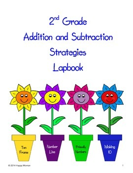 Addition & Subtraction Strategies Lapbook