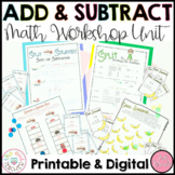 Addition Strategies and Subtraction Strategies Unit for Ma