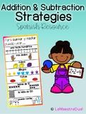 Addition & Subtraction Strategies ( Spanish Resource)