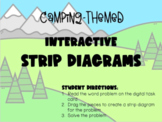 Addition & Subtraction Strip Diagrams (Interactive Google Slides)