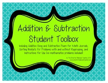 Addition & Subtraction Student Toolbox