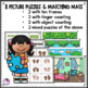 Addition, Subtraction, Subitizing Numbers Up to 10 Puzzles