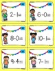 Addition & Subtraction Task Cards (1-10)