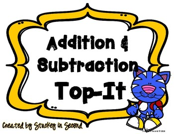 Addition & Subtraction Top It