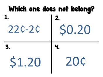 Addition & Subtraction Higher Ordered Thinking