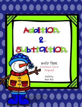 Addition & Subtraction [Winter Theme]