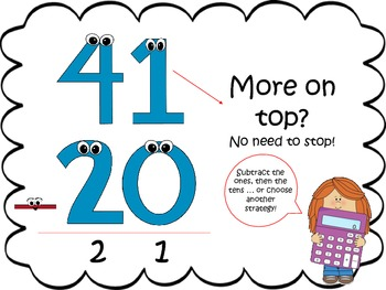Addition &- Subtraction With Regrouping Posters by HRac | TpT