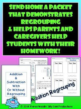 Addition & Subtraction With & Without Regrouping
