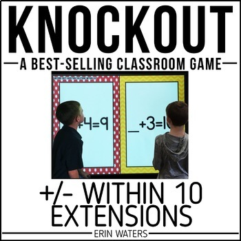Addition & Subtraction Within 10 Game [Extension Skills KNOCKOUT]