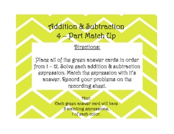 Addition & Subtraction Within 1,000