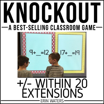 Addition & Subtraction Within 20 | Math Extension | KNOCKOUT | Distance Learning