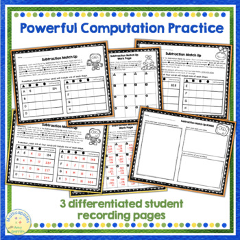 Addition & Subtraction Word Problem BUNDLE - Fall Themed