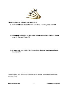Addition Subtraction Word Problem Review