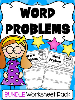 Addition Subtraction Word Problem Worksheets Kindergarten And