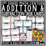 Digital Addition & Subtraction Word Problems 3rd Grade Math TEKS 3.4A