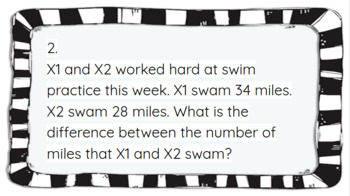 Addition/Subtraction Word Problems (Editable- Include YOUR Students' Names)